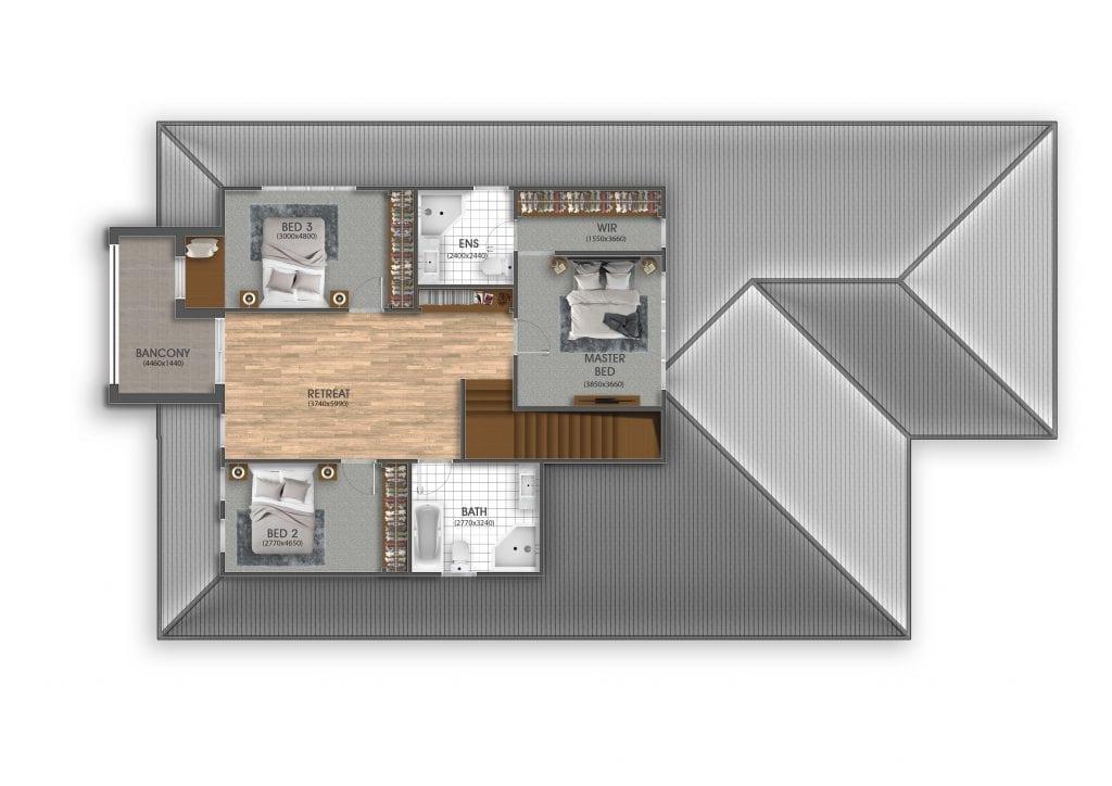 Visual Render Marketing Floor Plan