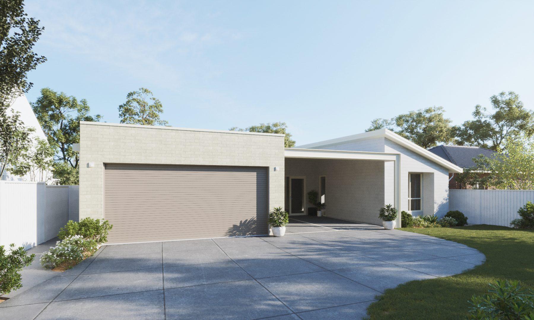 3D Renders For Property Marketing - Exterior Render